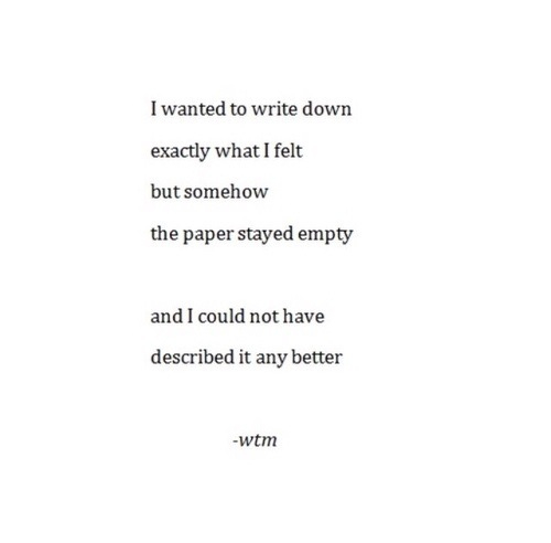 depressed, empty, love and poem