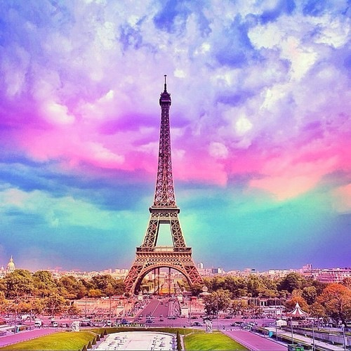 Eiffel Tower Image 1610134 By Lovely Jessy On Favim Com