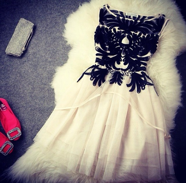 beautiful, dress, gothique, mode, robe, style