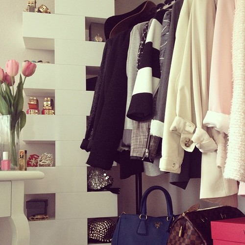 bags, bedroom, fashion and flowers