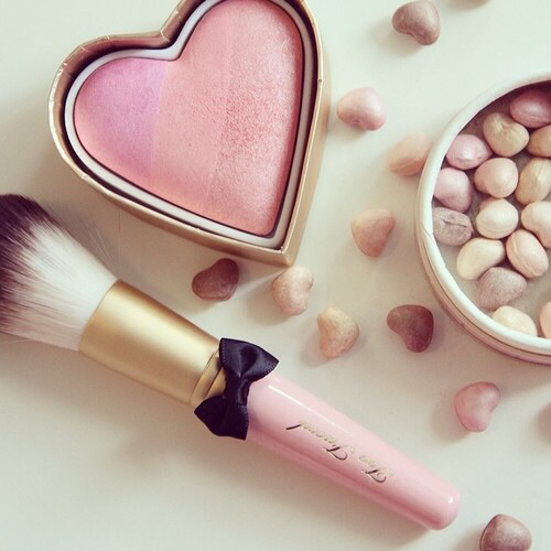 blush, faced, girls and love
