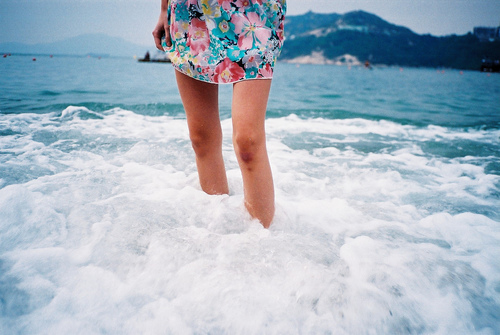 fun, adventure, paradise, legs, nature, sea, blue, beach, vintage, water, dress, beautiful, cute, spring, ocean, sun, indie, beauty, travel, hipster, awesome, summer, amazing, girly, grunge, girl