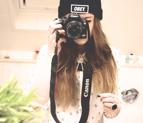 canon, fashion, girl, hair, love, obey, swag