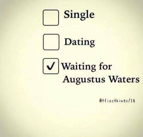 Waiting for Augustus Waters - image #1717104 by patrisha ...