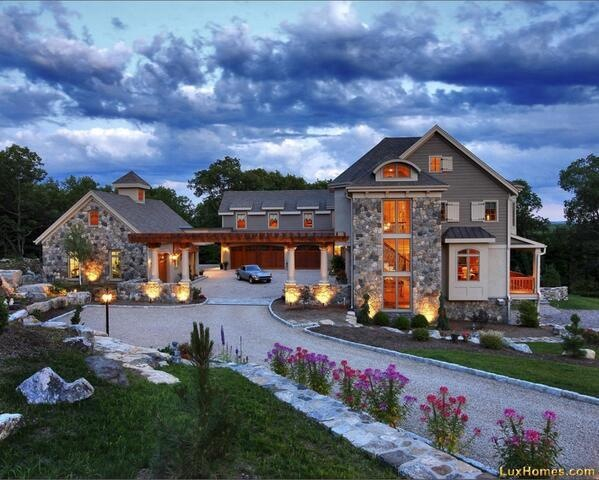 Beautiful big dream houses images for Huge beautiful houses