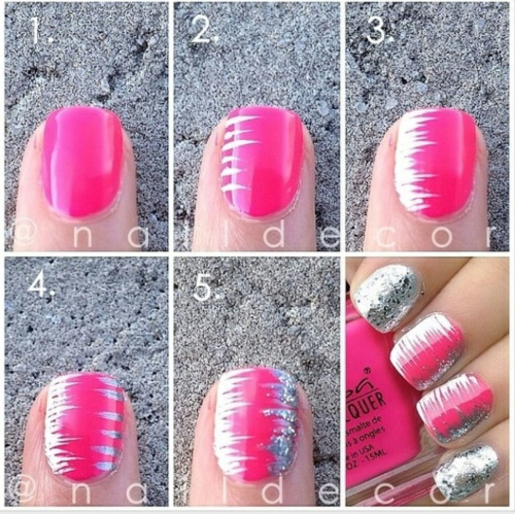 Tumblr nails ideas step by