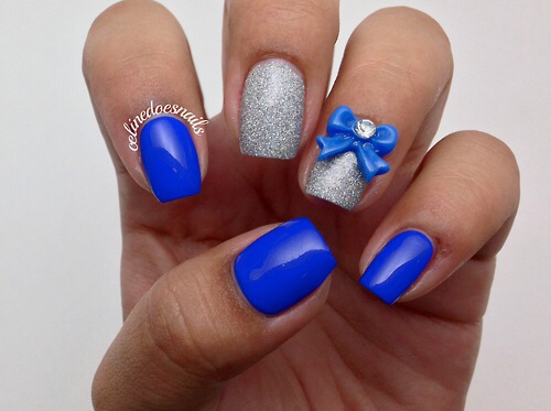 art, blue, bow and bright