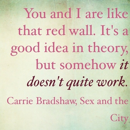 Sex and city fashion quotes