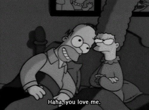 funny, homer, lol and love