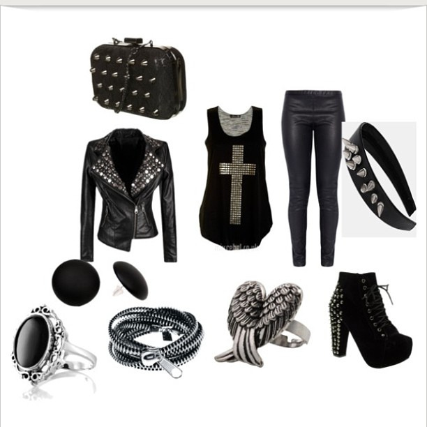 fashion, goth, gothique, grunge, mode, outfit, outfits, style
