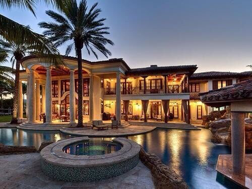 Dream Expensive Exterior House Huge Luxury Mansion