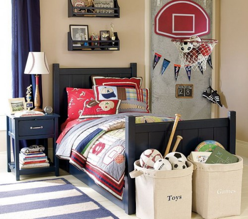 Bedroom designs make your bedroom more beautiful with for Kids sports room