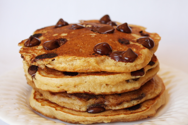 chocolate chip pancakes | via Tumblr - image #2169904 by ...