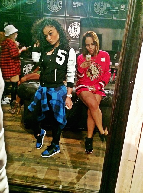 India Westbrooks   via... Swag Outfits For Girls For School