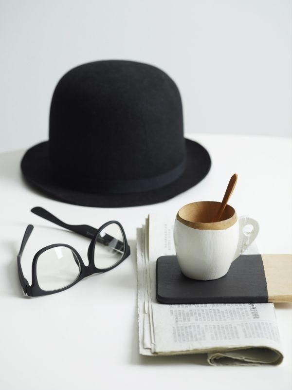 black, fashion, glasses and hat