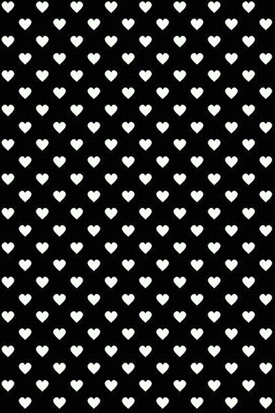 White Hearts Black Background Wallpaper Image 2332824 By