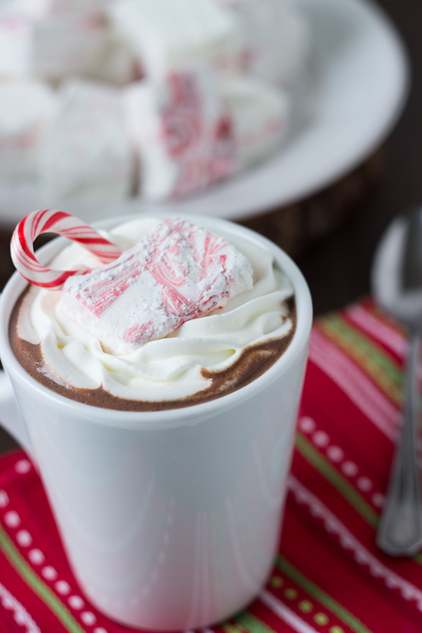 candycane, chocolate, christmas and drink