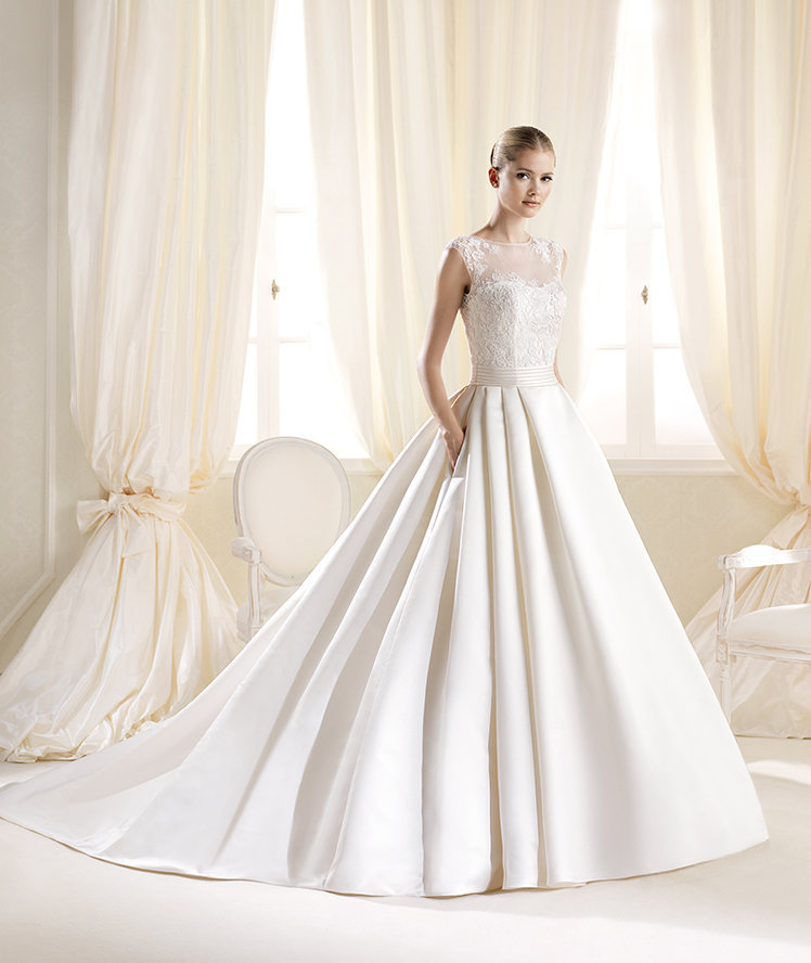 beautiful, bridal gown, bride and dress