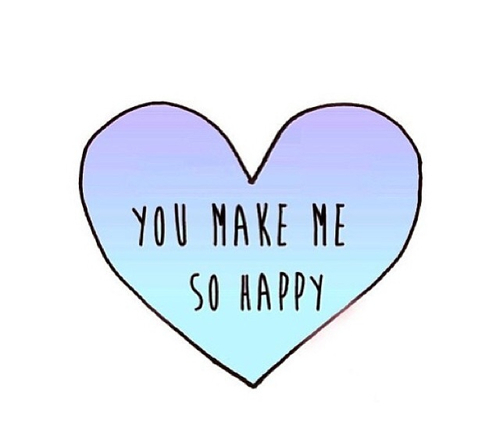 You make my so happy - image #2467274 by marky on Favim.com You Make Me So Happy Quotes Tumblr