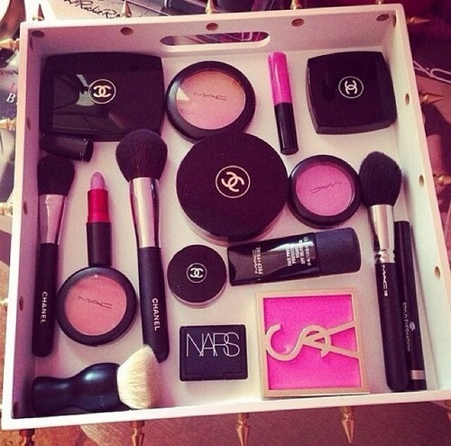 chanel, collection, mac and makeup