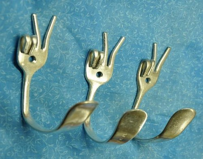 home decor ideas, Home Decor Designs, Metal Spoons Crafts and Recycled Metal Spoons