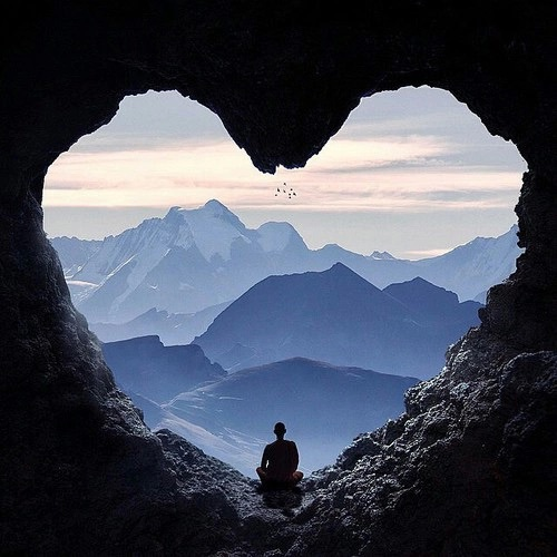 alone, beauty, cave, cool, dream, heart, hipster, indie, landscape, love, nature, peace, photography, places, sky, vintage