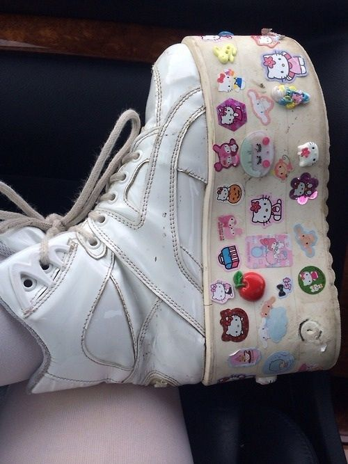 Fancy White Girl Shoes