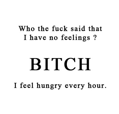 eat, feelings, food, funny, hunger - image #3612804 by ...