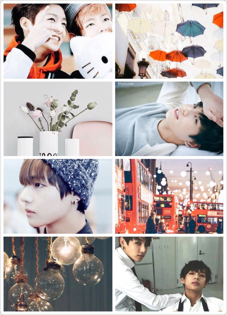 adorable, aesthetic, beanie, beautiful, boy, bts, cute, flower, handsome, korean, kpop, music, red, umbrella, v, bangtan, taehyung, jungkook, vkook, taekook, kookie‬