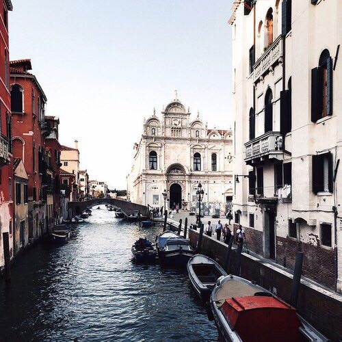 boat, cities, italy, love, venice, water