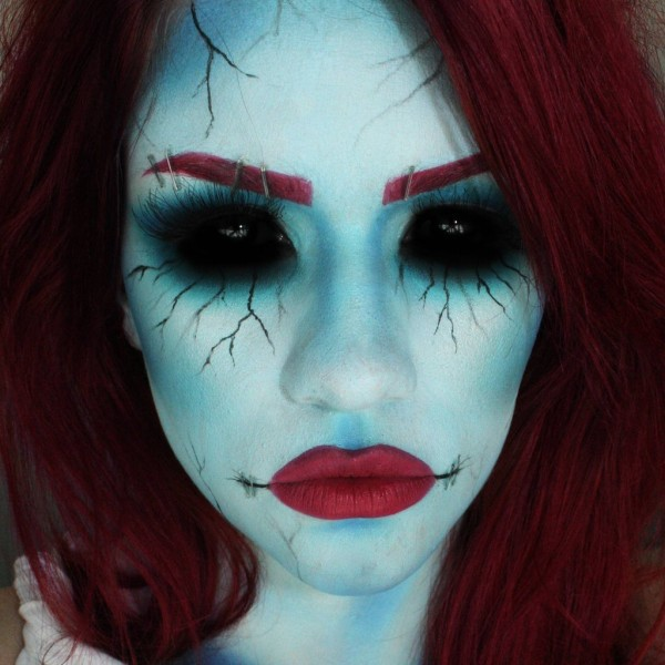 30 Halloween Makeup Ideas for Women  image #3692474 by - Easy Halloween Eye Makeup