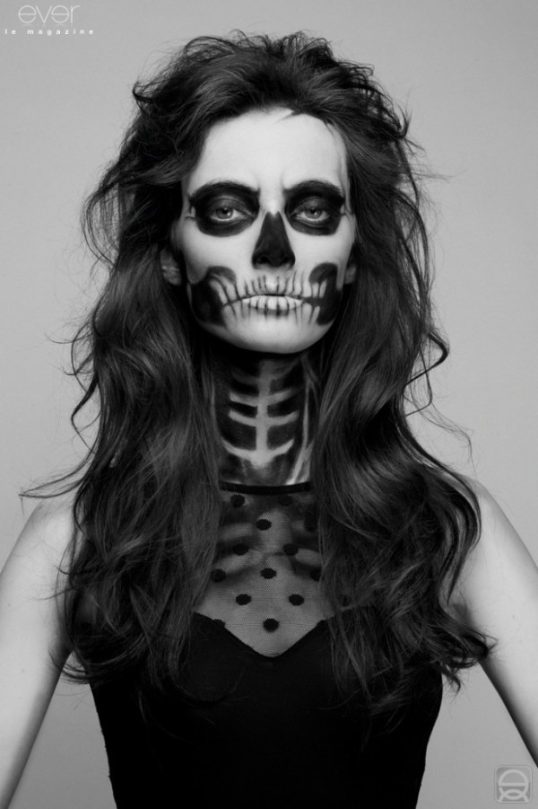 Easy Halloween Makeup Scary.Easy Halloween Makeup Images On Favim Com
