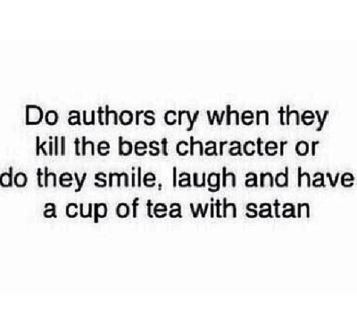 authors, books, cry and eat
