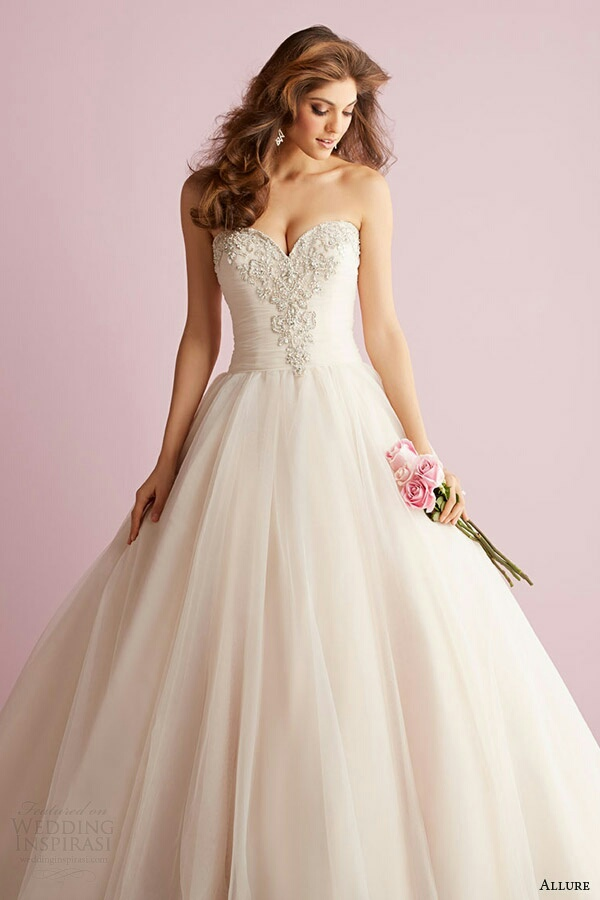 White Wedding Dress Meaning Dream : Dreams dress pink wedding white image by miss dior on