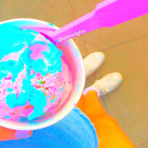 Ice Cream Wallpaper In Soft Blues And Multi From The Dream: Amazing, Background, Beautiful, Beauty, Blue