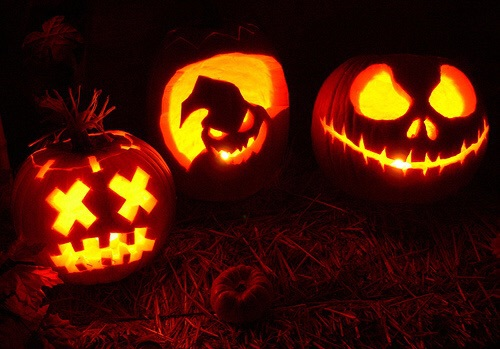 autumn, fall, halloween and nightmare before christmas