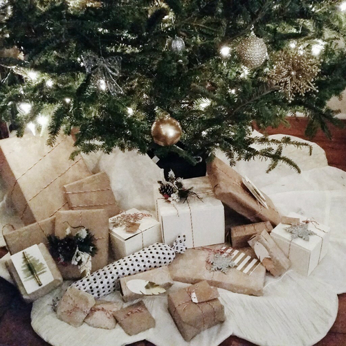 christmas, gifts, presents and white