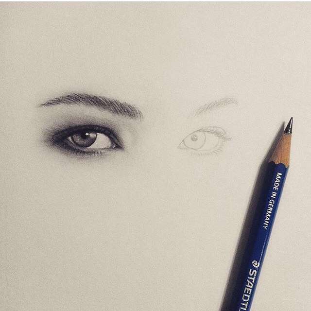 art, artist, beatiful, black and white, cool drawing, draw, drawing, eyes, inspiration, pencil, pencil drawing, eye drawing