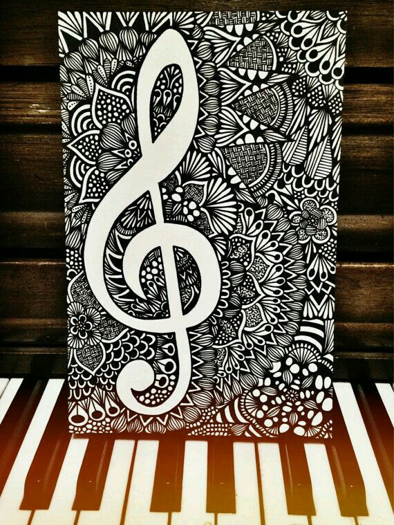 black&white, draw, drawings, hipster, music, piano, pinterest