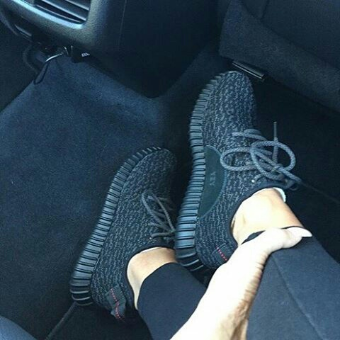 adidas, black, boots and jenner