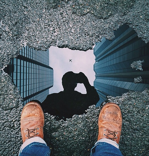 paddle, photography, reflection, shoes, tumblr, water