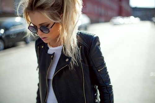 bad girl, clothing, fall, fashion, girls, idea, leather jacket, model, outfit, rebel, winter