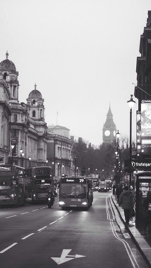beautiful, black and white, british, city, england, hipster, london, pale, street, travel, uk, vintage