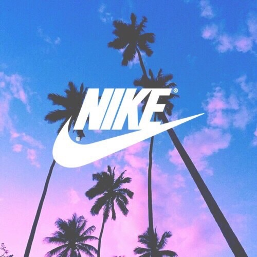 Blue Colorful Nike Ombre Palm Trees Image 3906416