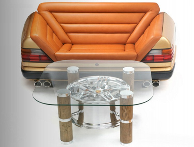 Recycled Car Part Furniture Easy