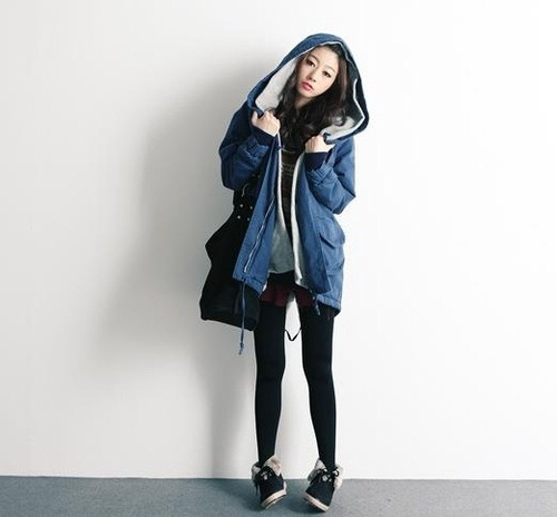 Girls K Fashion Kfashion Ulzzang Winter Image 3911942 By Bobbym On