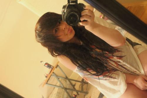 camera, hair, indie, wavey hair