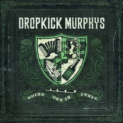 Dropkick Murphys - Going out in style , neues album out now cd cover - Lowbird.com - Der lowe Bird fngt den Wurm!