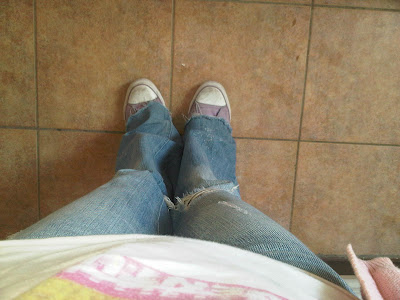 all star, jeans, pants, tee