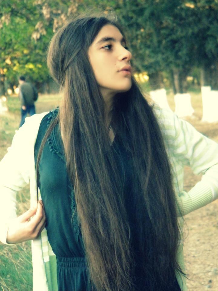 ama, girl, long, hair, twin